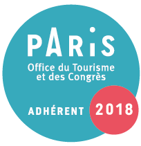 Logo de l'office de tourisme de Paris